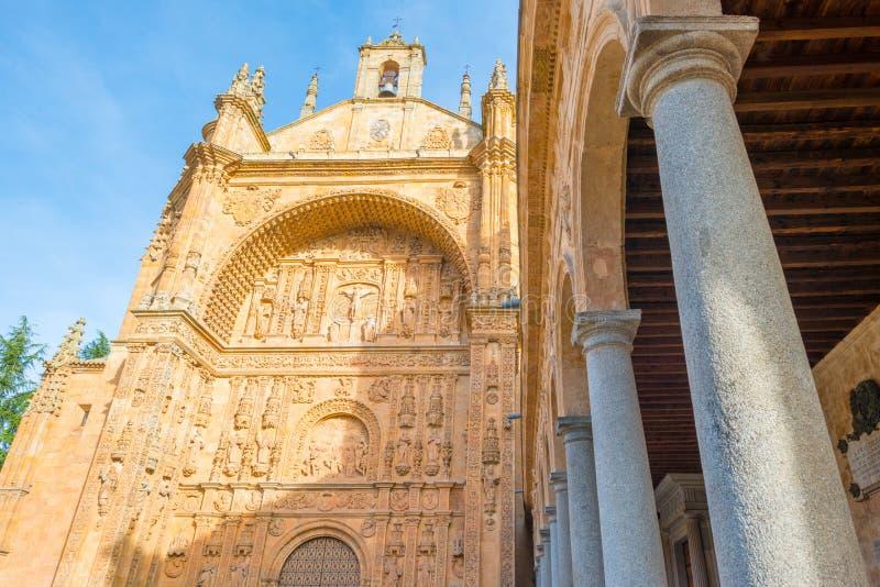 Dettaglio di un monastero domenicano a Salamanca immagine stock libera da diritti