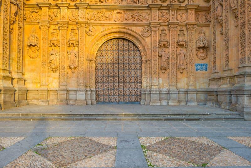 Dettaglio di un monastero domenicano a Salamanca immagini stock libere da diritti