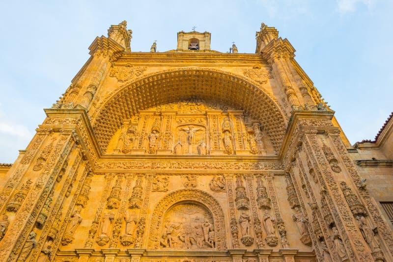 Dettaglio di un monastero domenicano a Salamanca fotografie stock
