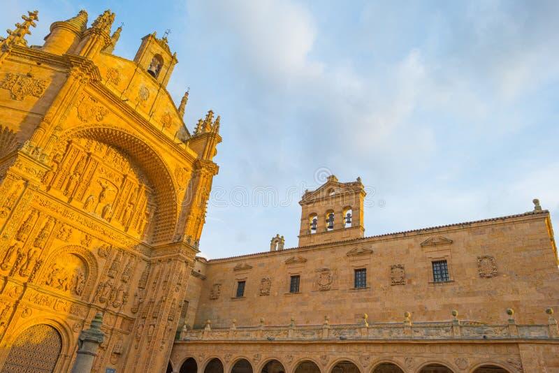 Dettaglio di un monastero domenicano a Salamanca fotografia stock libera da diritti