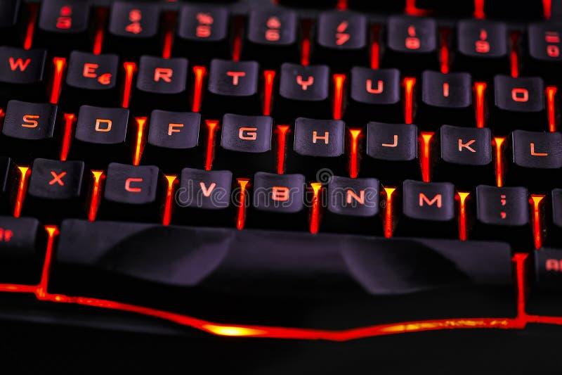 Dettaglio di una tastiera di qwerty #2 fotografia stock