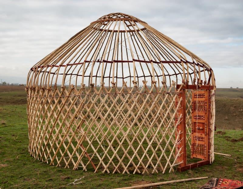Dettaglio di yurt fotografia stock