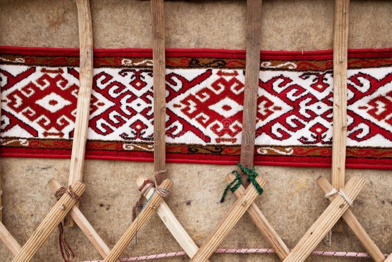 Dettaglio di yurt fotografie stock