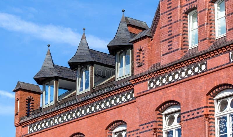 Dettaglio domestico del tetto della Camera fotografie stock libere da diritti