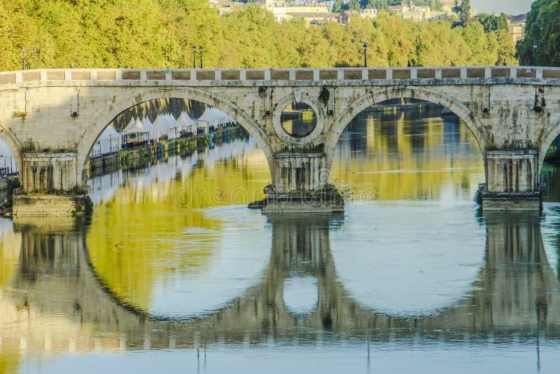 Dettaglio Ponte Sisto стоковое изображение