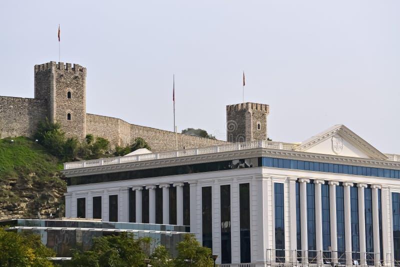 Dettaglio a Skopje immagine stock