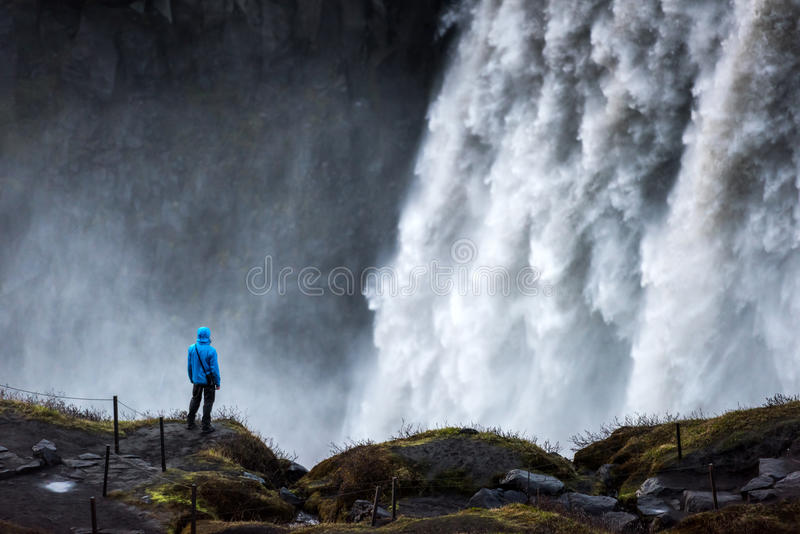 Dettifoss photographie stock
