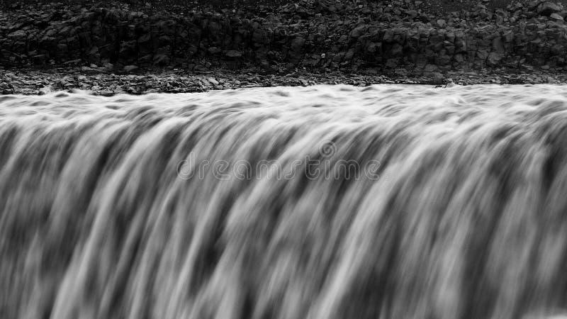 Dettifoss, IJsland stock afbeelding