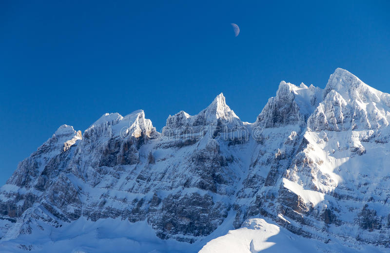 Deukendu Midi maan stock afbeelding