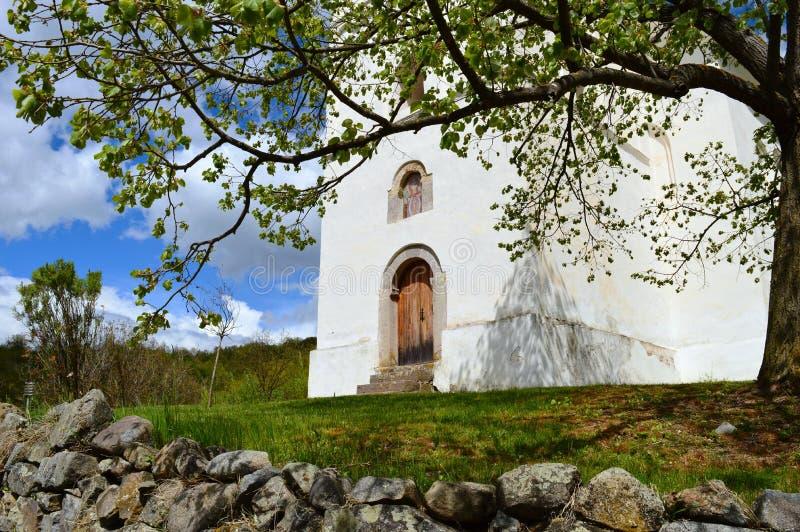 deur aan de oude Orthodoxe kerk royalty-vrije stock foto