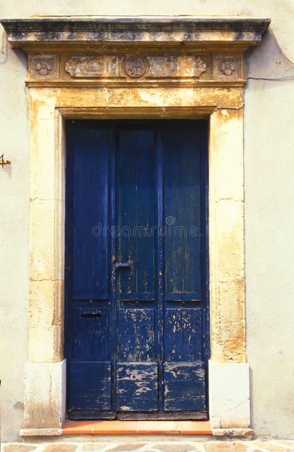 Deur, Frankrijk stock fotografie