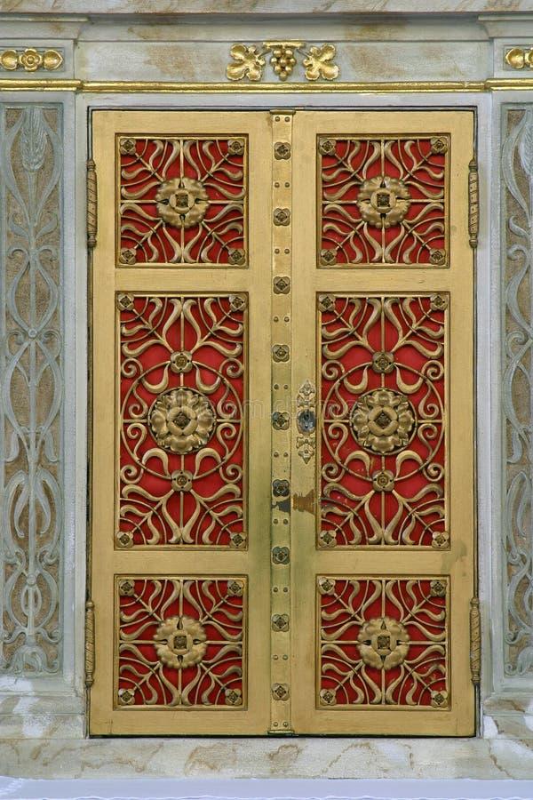 Deur van het tabernakel stock afbeelding