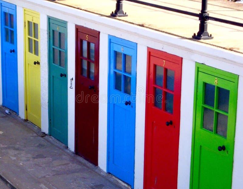 deuren stock afbeelding