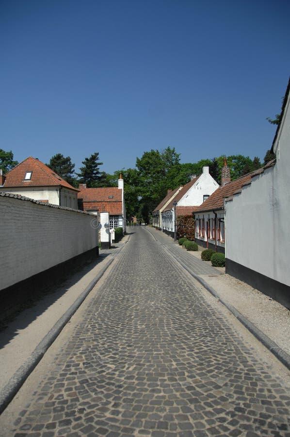 Deurle dorp royalty free stock images