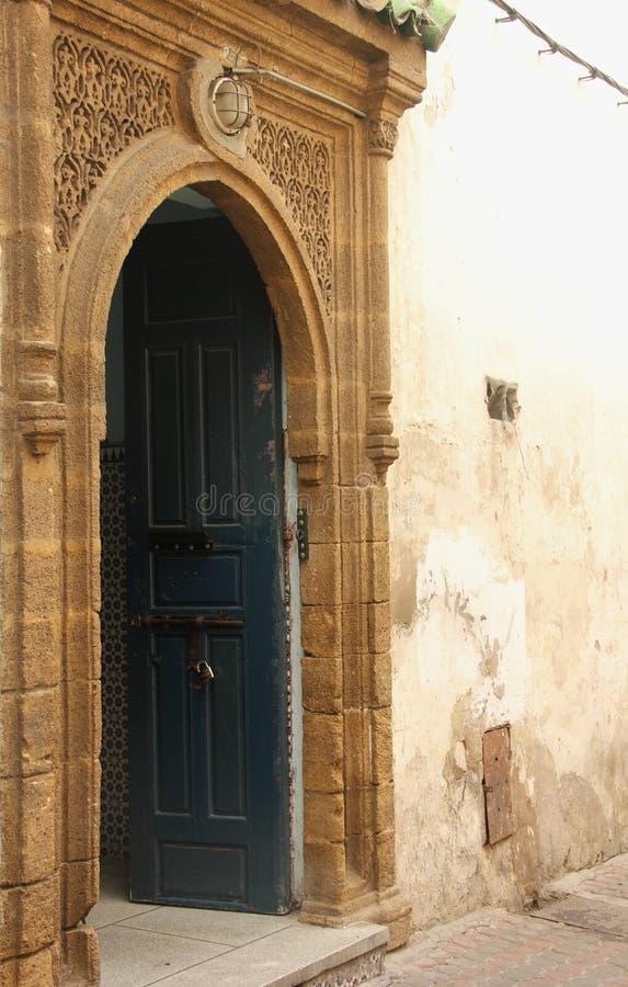 deuropening stock afbeelding