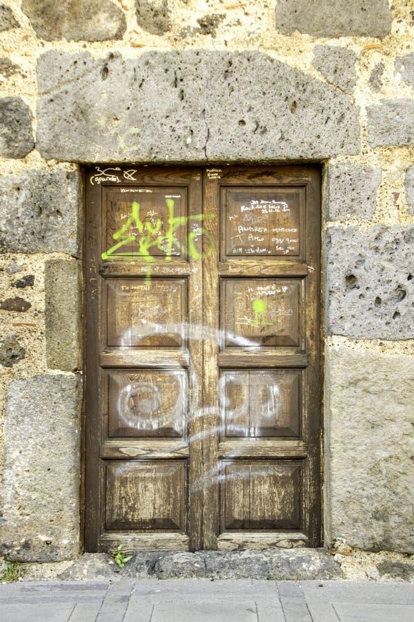 deuropening royalty-vrije stock foto's