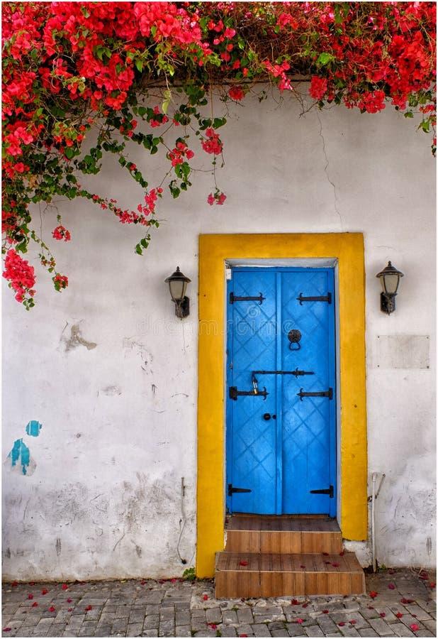 deuropening in het voorjaar royalty-vrije stock fotografie