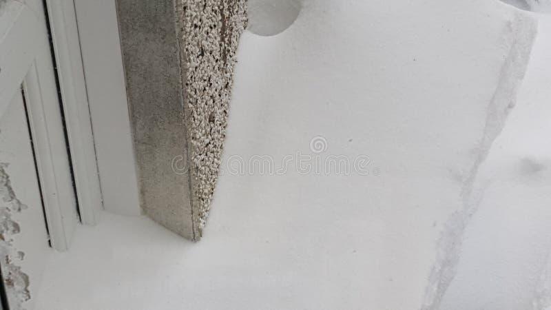 deursneeuw stock foto