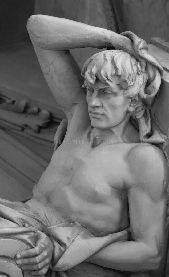 Deus Apollo na mitologia grega (Phoebus - na mitologia romana) imagens de stock royalty free