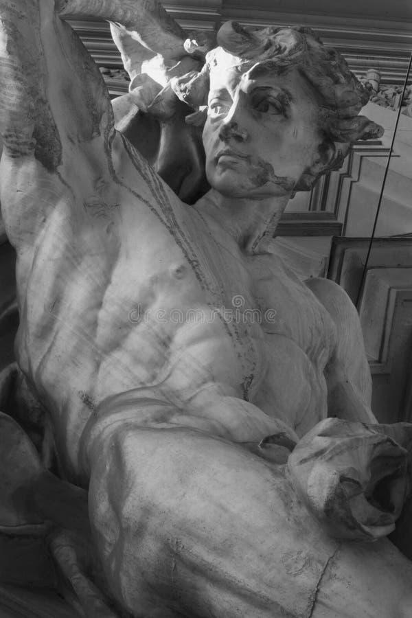 Deus Apollo (Phoebus) imagens de stock royalty free