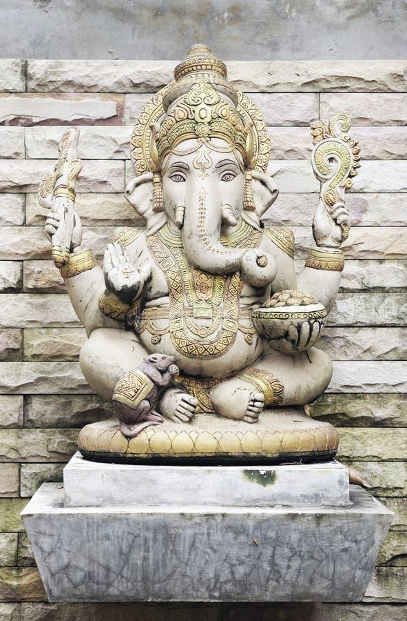 Deus de Ganesha de bem sucedido imagem de stock royalty free