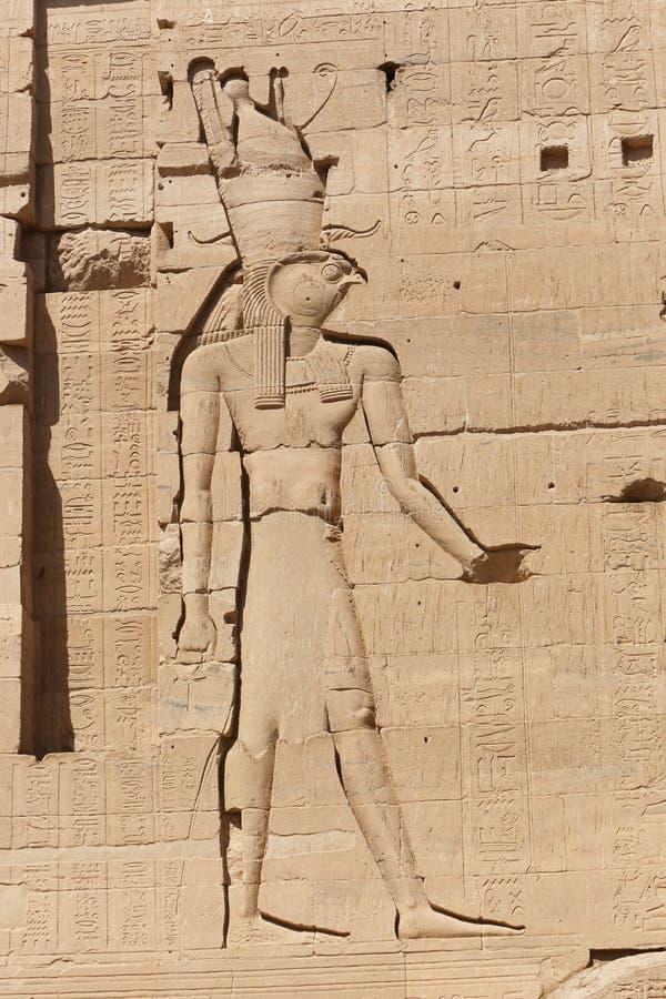 Deus de Horus foto de stock