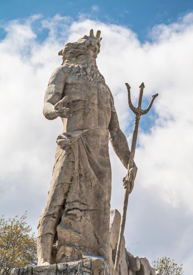 Deus dos mares Poseidon Netuno imagens de stock royalty free