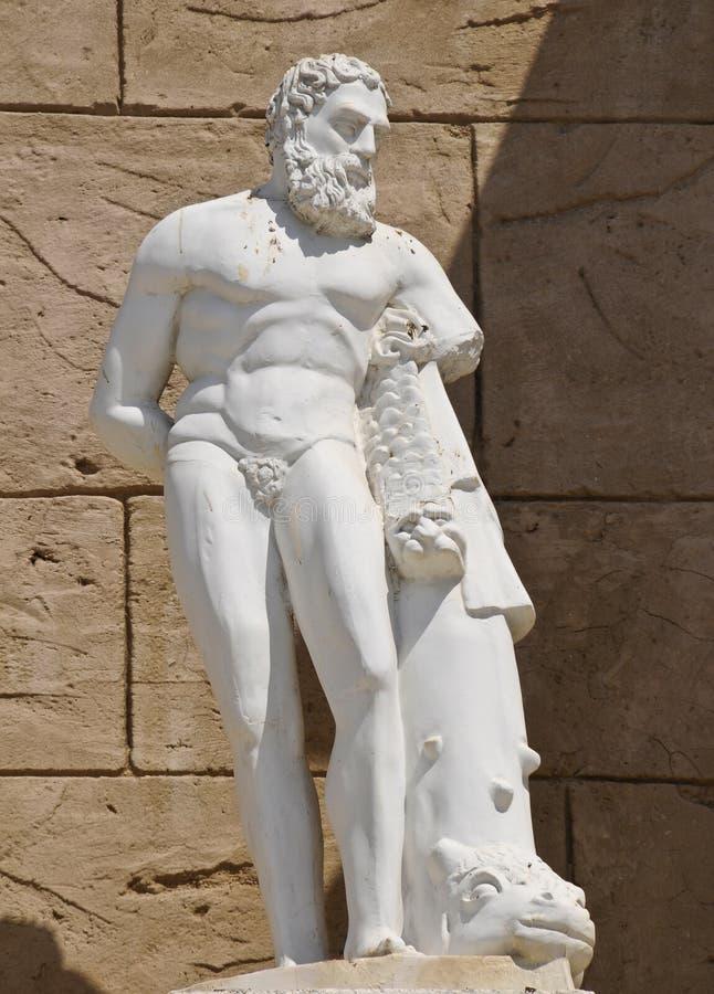 Deus grego imagens de stock