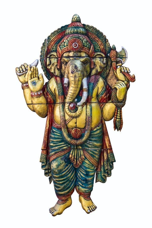 Deus hindu Ganesh imagens de stock