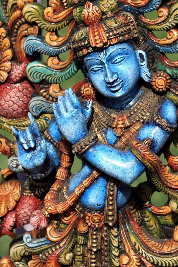 Deus Hindu Krishna fotografia de stock royalty free