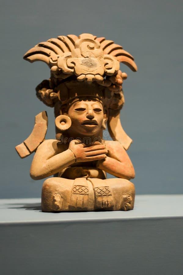 Deus Monte-Alban Oaxaca Mexico de Zapotec imagem de stock