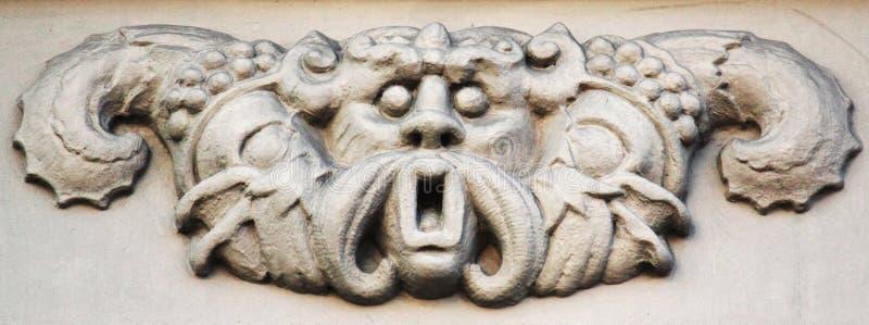 Deus Poseidon de Netuno do deus imagens de stock