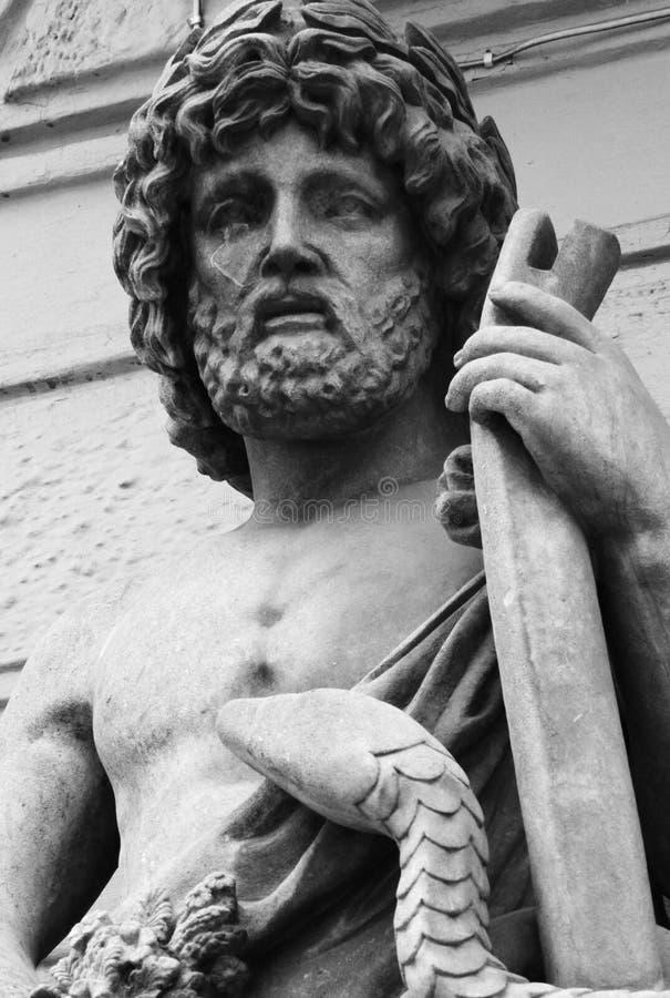 Deus Zeus fotografia de stock royalty free