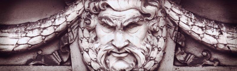 Deus Zeus foto de stock