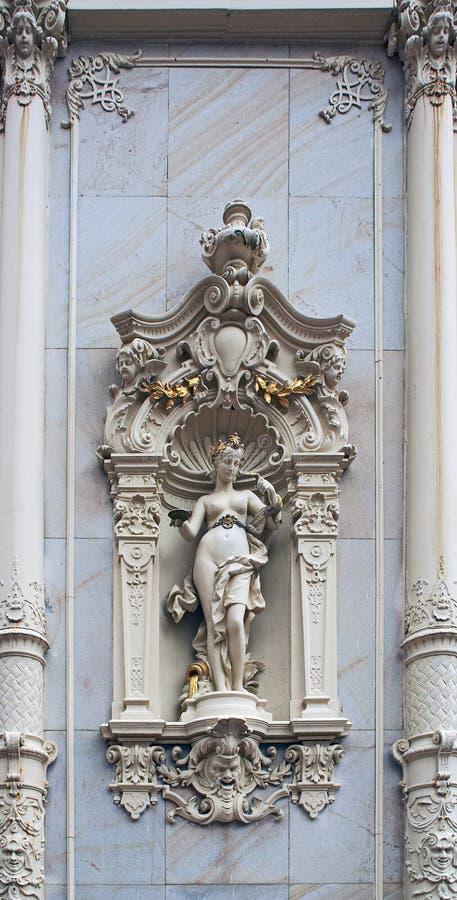 Deusa de Hygieia imagens de stock