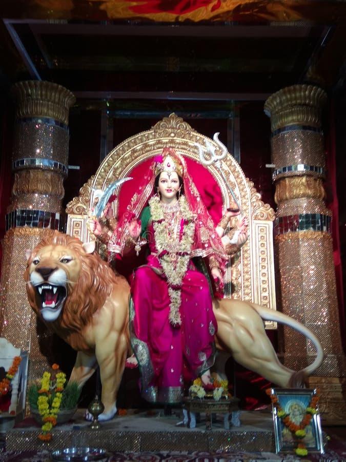 Deusa Durga fotos de stock