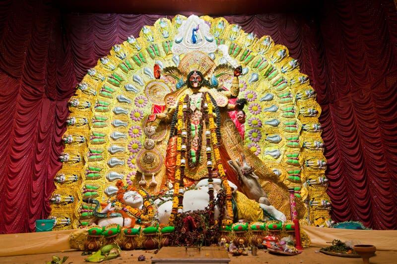 Deusa hindu Kali imagens de stock royalty free