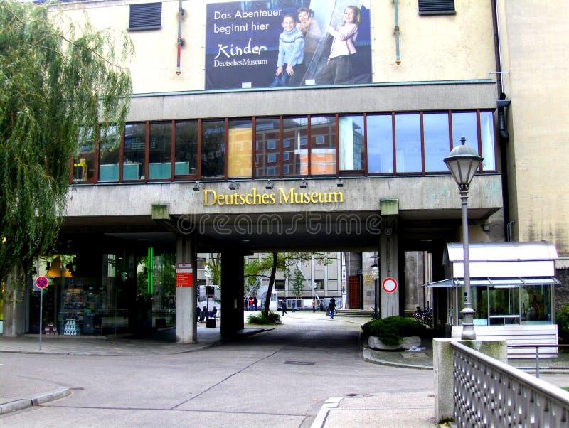 Deutsche博物馆在Munchen,德国 库存照片
