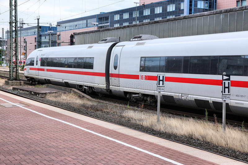 Deutsche快速的Bahn 库存照片