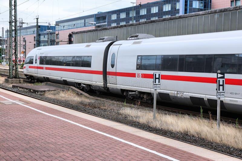 Deutsche Bahn exprès photo stock