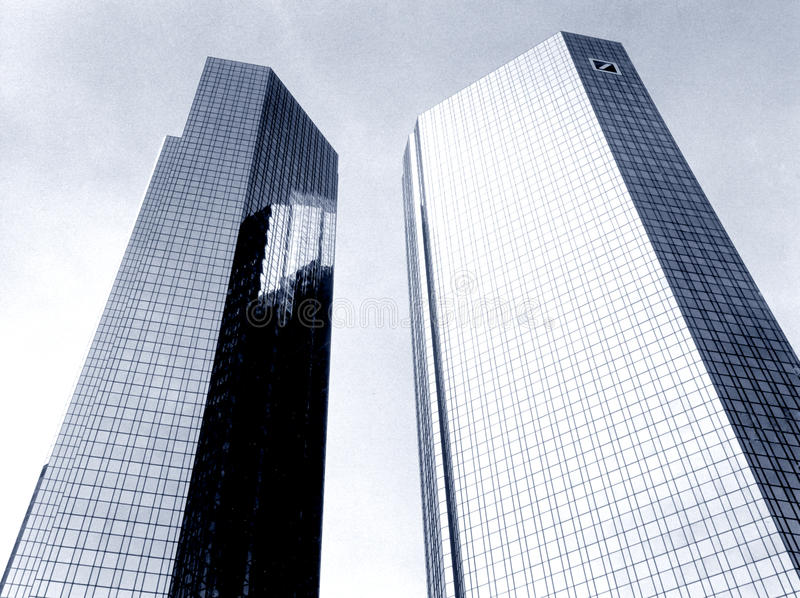 Deutsche Bank arkivfoton