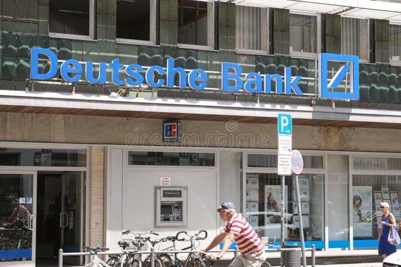 Deutsche Bank obraz royalty free