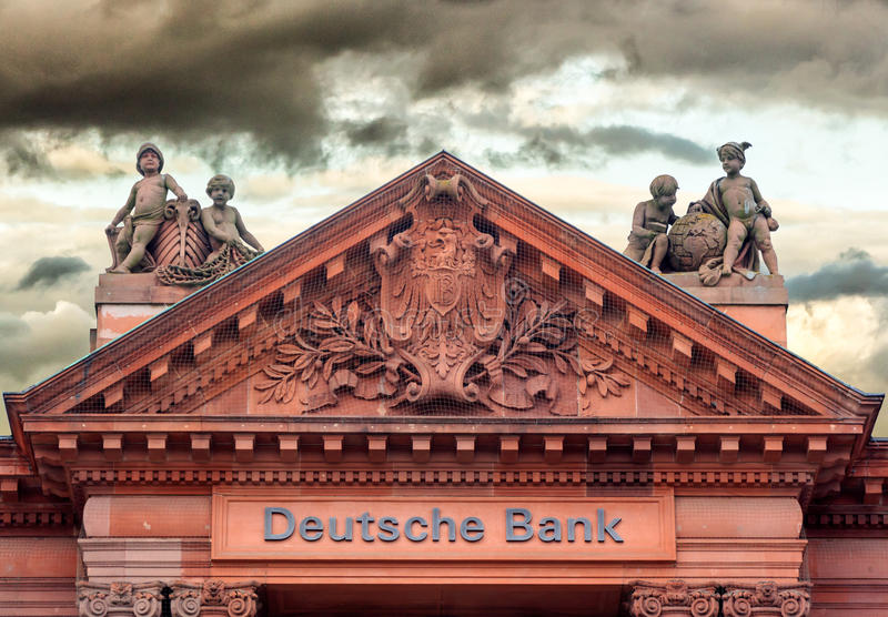 Deutsche Bank royaltyfri bild