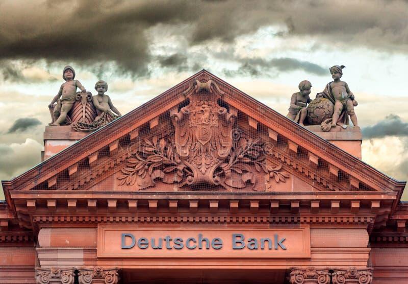 Deutsche Bank lizenzfreies stockbild