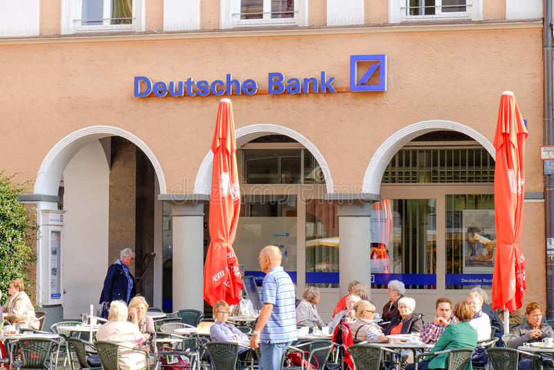 Deutsche Bank obrazy stock