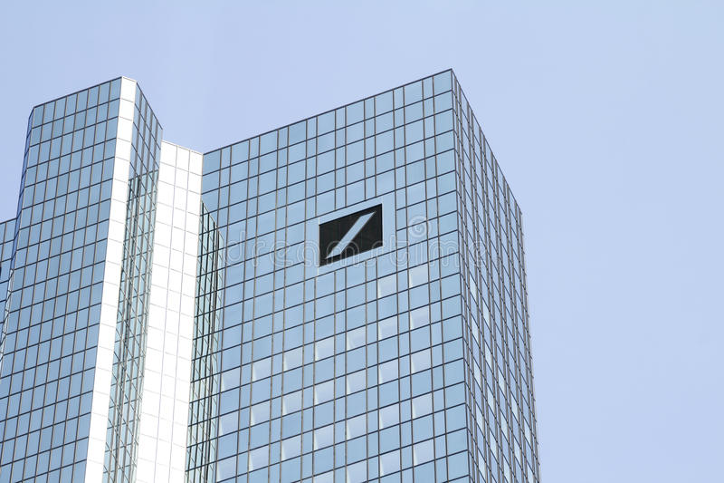Deutsche Bank zdjęcia stock