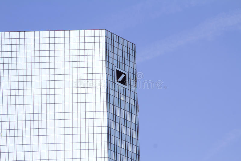 Deutsche Bank zdjęcia royalty free