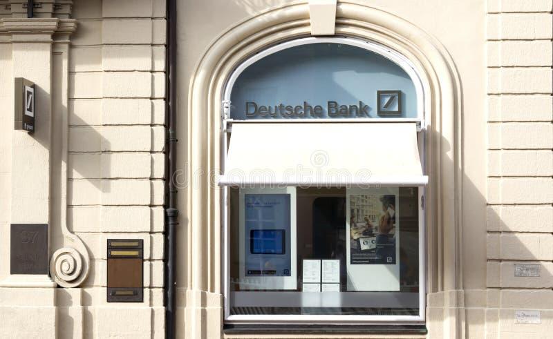 Deutsche Bank fotografia stock