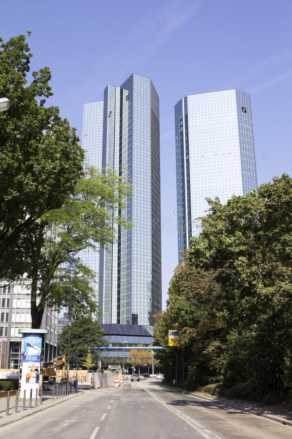 Deutsche Bank AG fotografia royalty free