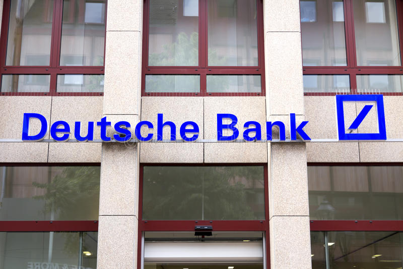 Deutsche Bank AG obrazy royalty free